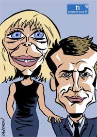 Numérologie de couple pour Brigitte & Emmanuel Macron