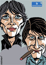 Portrait : Couple Hardy & Dutronc