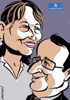 Portrait : Couple Royal & Hollande