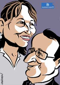 Numérologie de couple pour Royal & Hollande