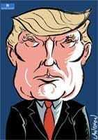 Portrait : Donald Trump