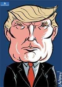 thème numérologique pour Donald Trump