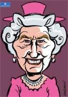 Portrait : Elizabeth II