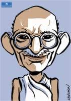 Portrait : Mahatma Gandhi