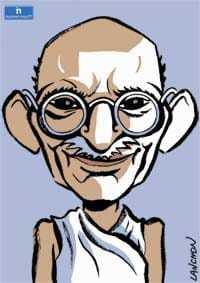 thème numérologique pour Mahatma Gandhi