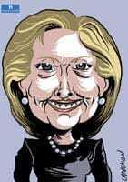 Portrait : Hillary Clinton