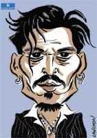 Portrait : Johnny Depp
