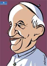 thème numérologique pour Pape François