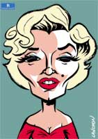 Portrait : Marilyn Monroe