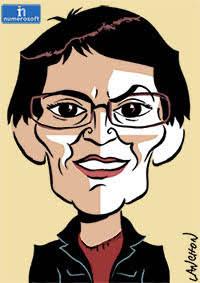 Portrait de Nathalie Arthaud, représentante de Lutte Ouvrière pour la présidentielle 2017