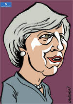 Portrait : Theresa May