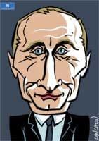 Portrait : Vladimir Poutine