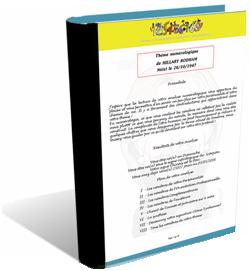 Votre thème numérologique complet sur 30 à 40 pages